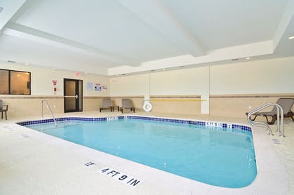 Indoor Pool | Sleep Inn & Suites Austin North I-35