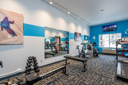 Fitness Facility | Wood River Inn & Suites