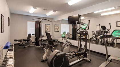 Fitness Facility | Best Western Plus Sand Bass Inn & Suites