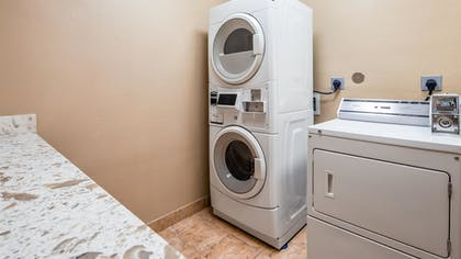 Laundry Room | Best Western Plus Kenedy Inn