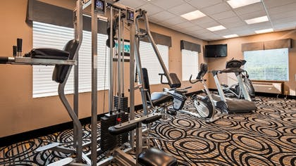 Fitness Facility | Best Western Plus Kenedy Inn