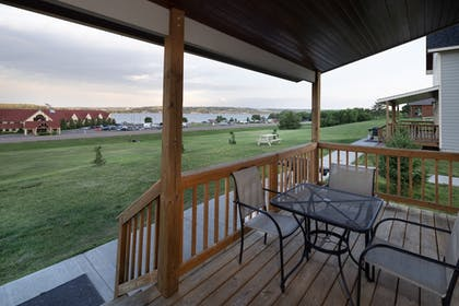 Balcony | Arrowwood Resort at Cedar Shore