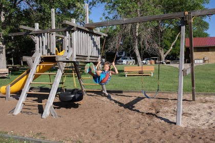 Children's Play Area - Outdoor | Arrowwood Resort at Cedar Shore