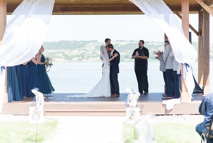 Outdoor Wedding Area | Arrowwood Resort at Cedar Shore