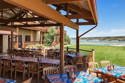 Terrace/Patio | Arrowwood Resort at Cedar Shore