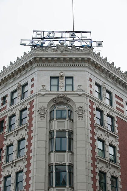Exterior detail   Hotel at the Lafayette Trademark Collection by Wyndham