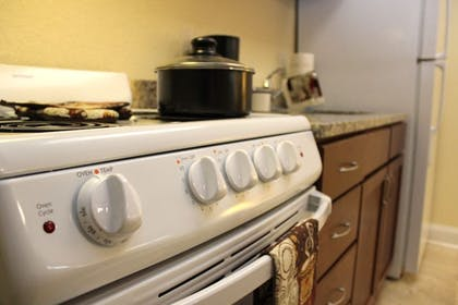 In-Room Kitchen | Affordable Suites Augusta
