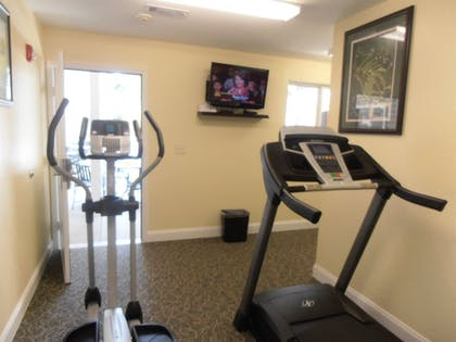 Fitness Facility | Affordable Suites Augusta