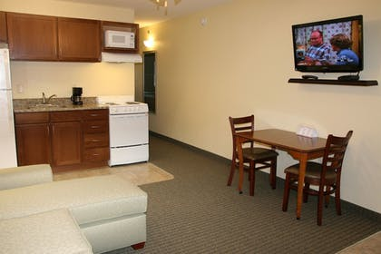 In-Room Kitchenette | Affordable Suites Augusta