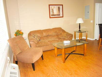 Living Room | Bell's Extended Stay and Suites