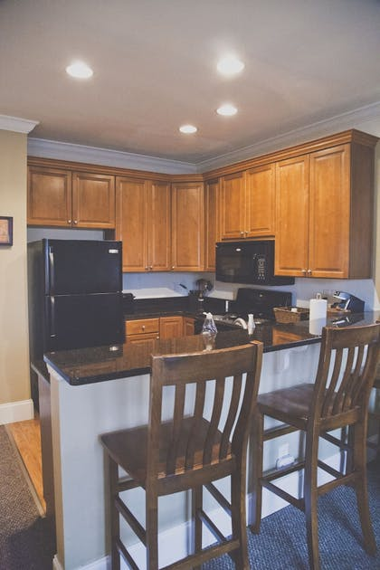 In-Room Kitchen | The Inn at Crestwood