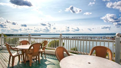 Terrace/Patio | Best Western The Hotel Chequamegon