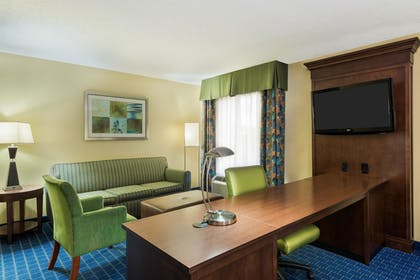 | 1 King Studio Suite | Hampton Inn & Suites Orlando Airport at Gateway Village