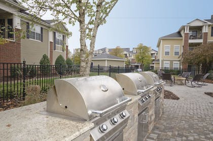 BBQ/Picnic Area | Oakwood Raleigh Brier Creek