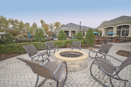 Terrace/Patio | Oakwood Raleigh Brier Creek