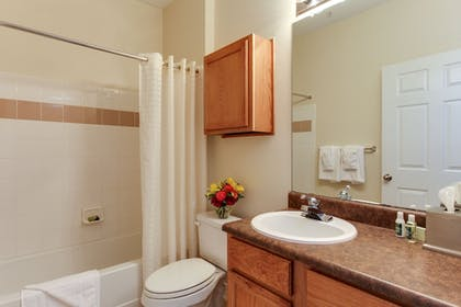 Bathroom | Oakwood Raleigh Brier Creek