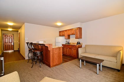 In-Room Kitchenette | Astoria Hotel and Event Center