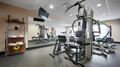 Fitness Facility | Best Western Plus Cushing Inn & Suites