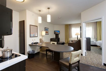 In-Room Kitchen | Candlewood Suites San Marcos