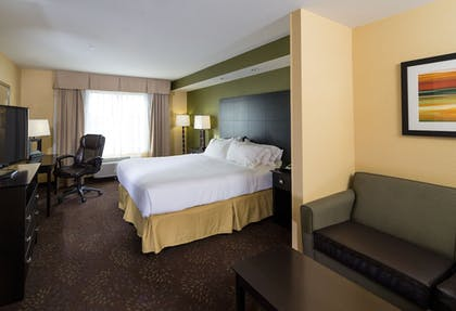 Guestroom | Holiday Inn Express & Suites Detroit North - Troy