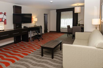 Living Room | Holiday Inn Express & Suites Columbus - Easton Area