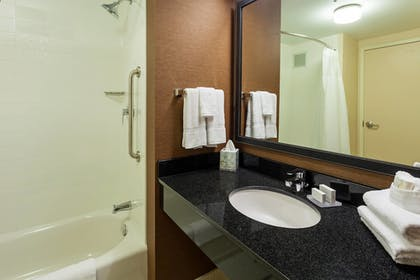 Bathroom | Fairfield Inn & Suites Chicago Downtown/River North