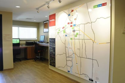 Business Center | TownePlace Suites Redding
