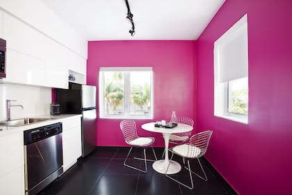 In-Room Kitchen | Blanc Kara - Adults Only