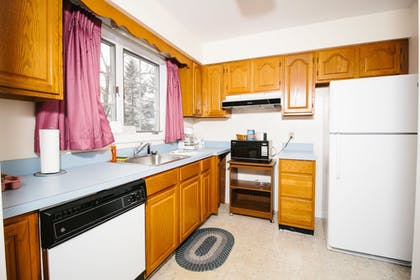 In-Room Kitchen | The Taber Inne & Suites