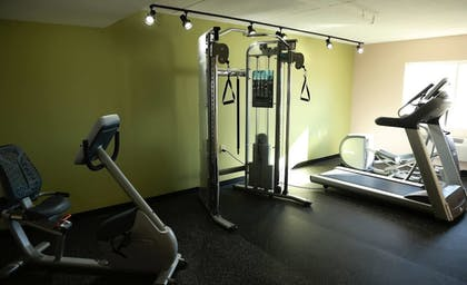 Fitness Facility | AmericInn by Wyndham McAlester