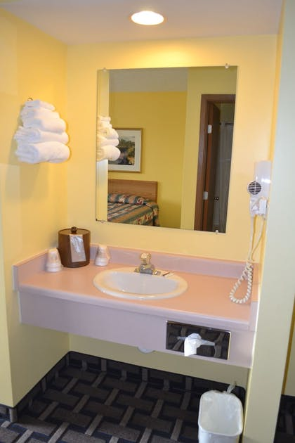 Bathroom | Sky Lodge Inn & Suites
