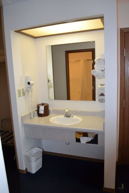 Bathroom Sink | Sky Lodge Inn & Suites