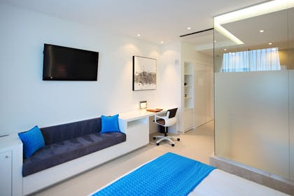 Living Area | The One Boutique Hotel