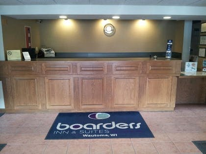 Reception   Boarders Inn & Suites by Cobblestone Hotels - Wautoma