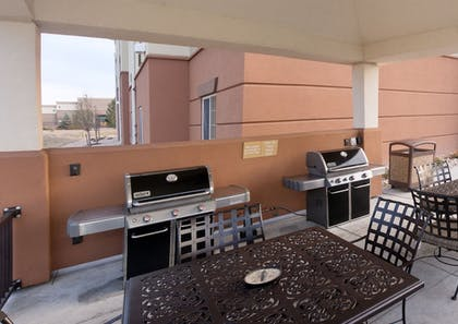BBQ/Picnic Area   Candlewood Suites Greeley