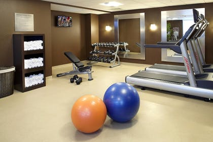 Fitness Facility | Courtyard by Marriott Cleveland University Circle