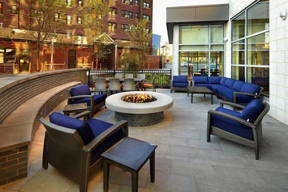 Terrace/Patio | Courtyard by Marriott Cleveland University Circle