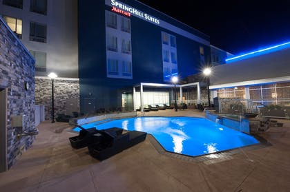 Outdoor Pool | SpringHill Suites by Marriott Midland Odessa