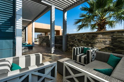 Terrace/Patio | SpringHill Suites by Marriott Midland Odessa