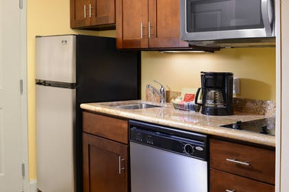 In-Room Kitchen | TownePlace Suites by Marriott Galveston Island