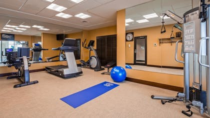 Fitness Facility | Best Western Plus Dayton Hotel & Suites