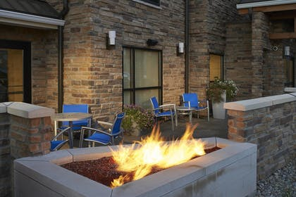 Terrace/Patio | Towneplace Suites by Marriott Saginaw