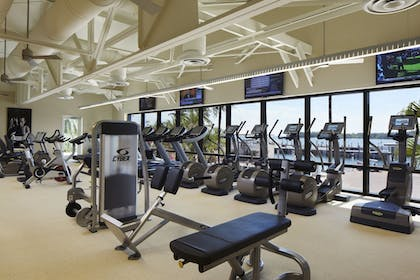 Fitness Facility | Provident Luxury Suites Fisher Island