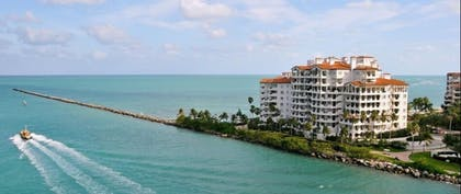 Aerial View | Provident Luxury Suites Fisher Island
