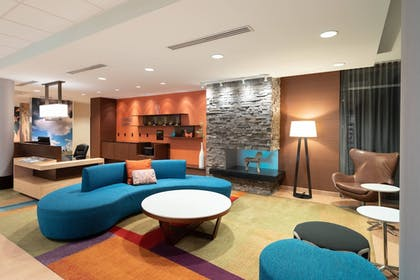 Lobby | Fairfield Inn & Suites DuBois