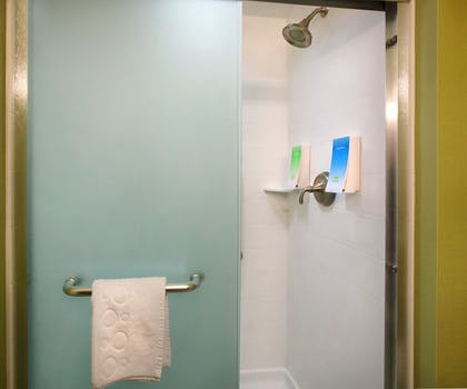 Bathroom Shower | Home2 Suites by Hilton Baltimore/White Marsh, MD