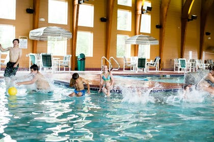 Indoor Pool | Cranberry Country Lodge