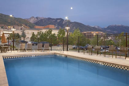 Outdoor Pool | Hyatt Place Salt Lake City/Cottonwood