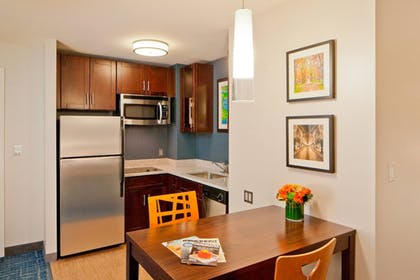 In-Room Kitchenette | Residence Inn by Marriott Boston Back Bay/Fenway