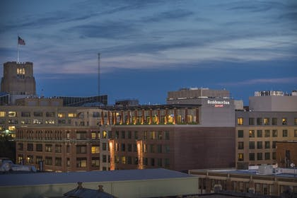 Hotel Front - Evening/Night | Residence Inn by Marriott Boston Back Bay/Fenway